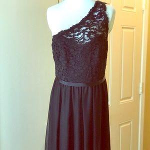 David's Bridal_ The Little Black Dress w/Belt